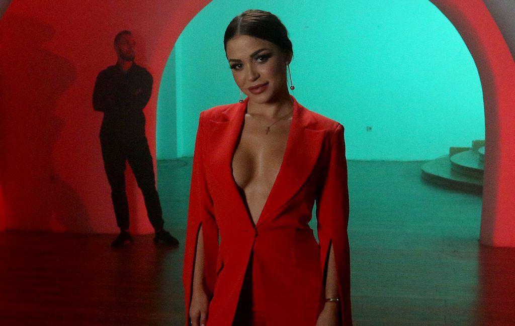 Aleksandra Mladenović sa snimanja jednog od spotova