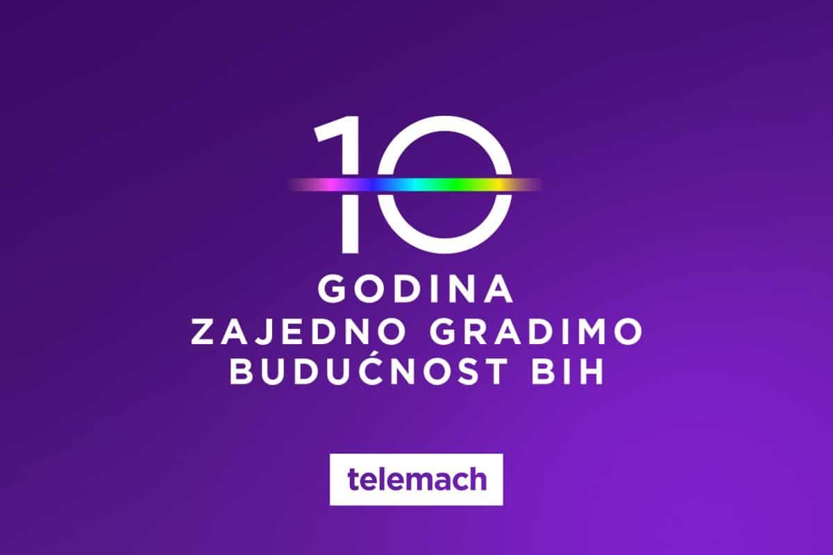 """Prva decenija Telemach-a u BiH: """"10 godina zajedno gradimo budućnost Bosne i Hercegovine"""""""