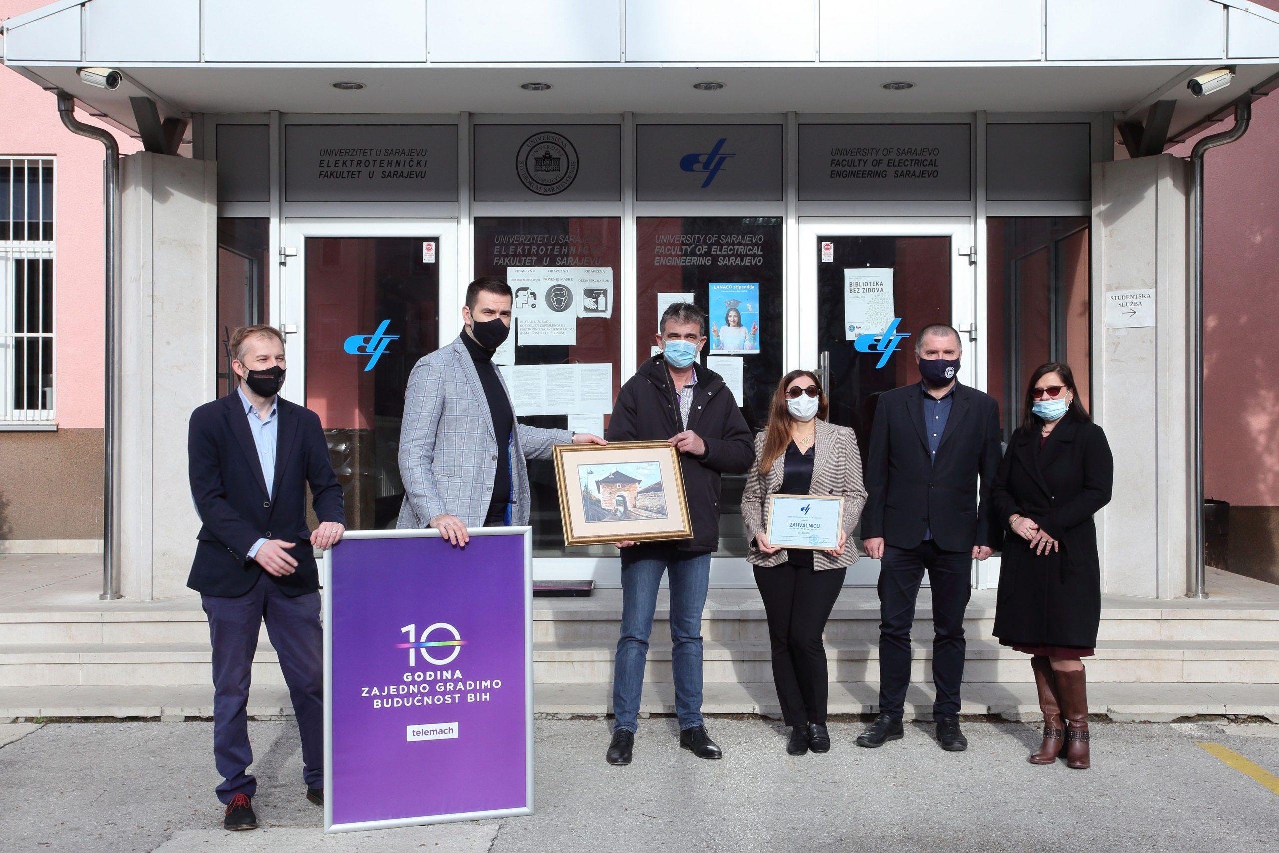 Vrijedna donacija Telemacha Elektrotehničkom fakultetu u Sarajevu