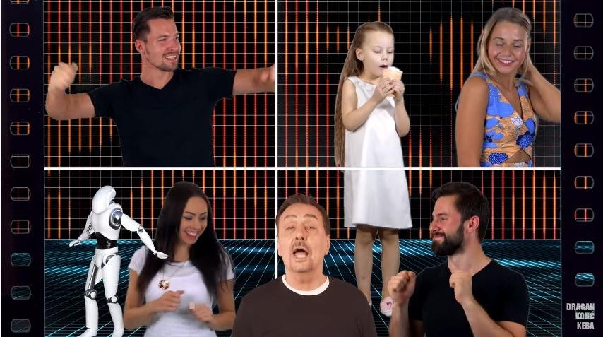 Dragan Kojić Keba za pjesmu DIBIDAM je spremio i zanimljiv video spot