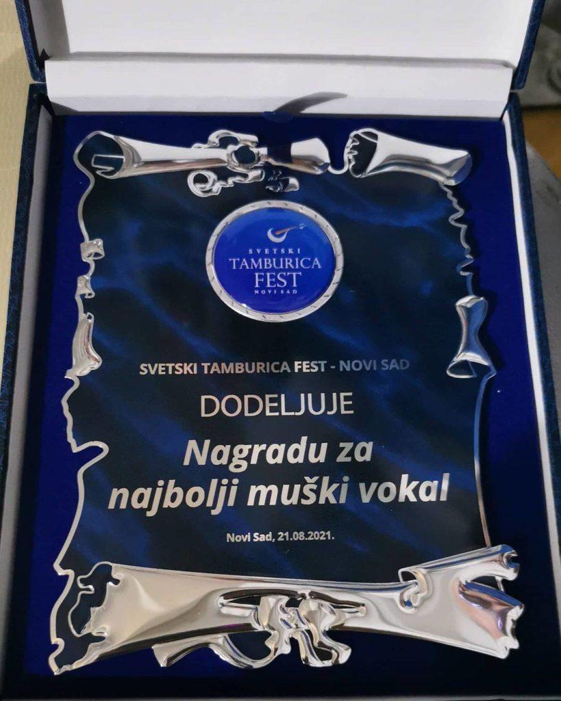 Hame Nalić - Nagrada za najbolji muški vokal