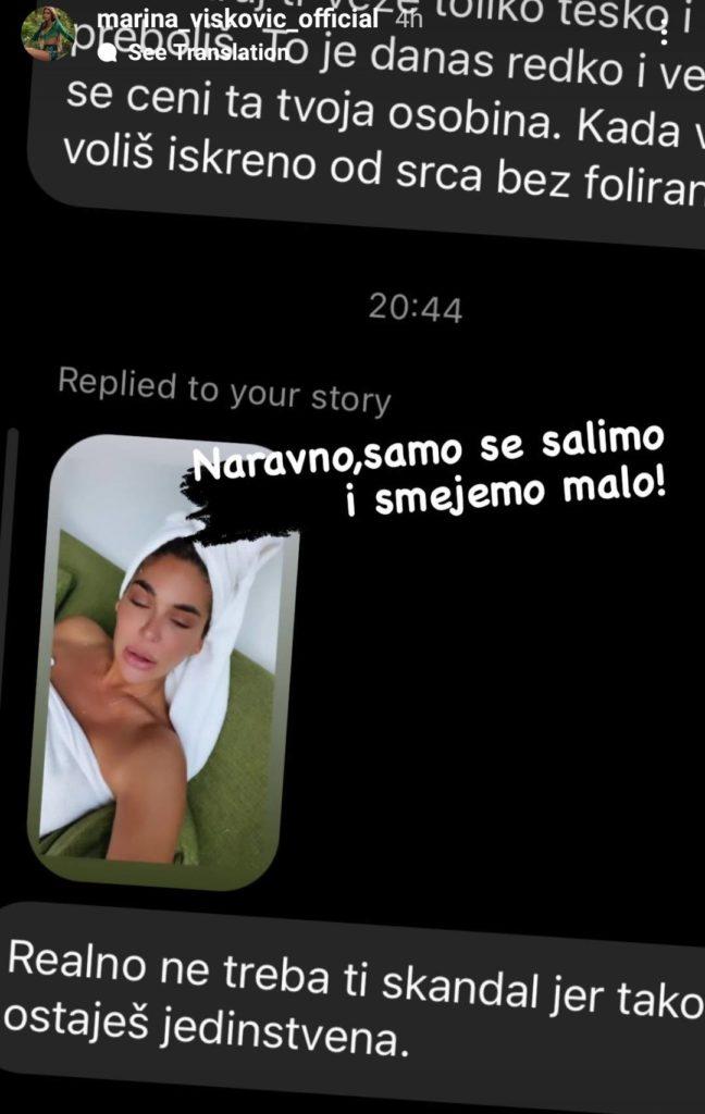 Marina Visković želi SKANDAL!