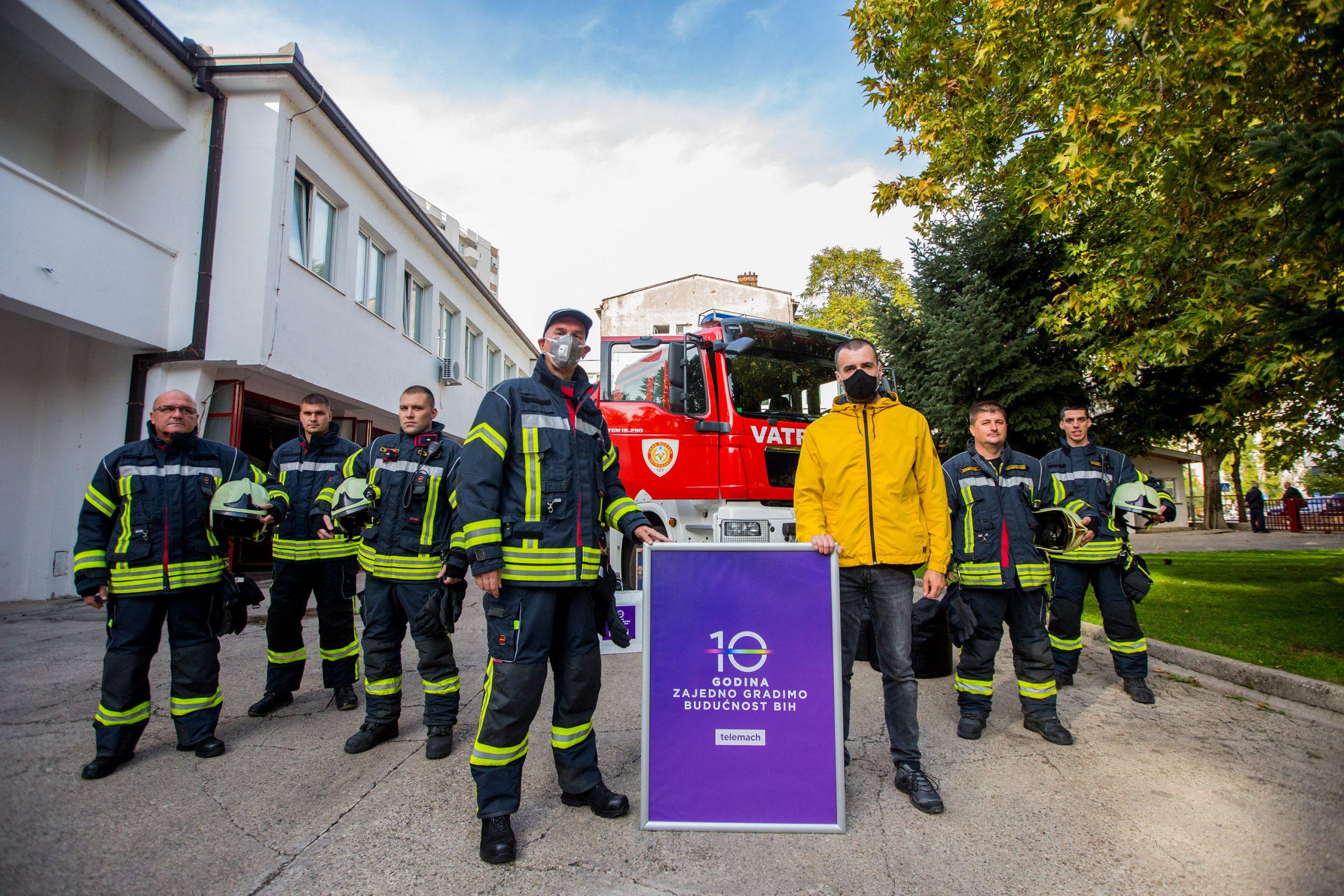 Telemach donirao savremene uređaje vatrogascima Mostara