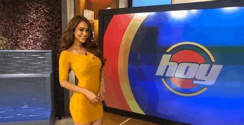 """Zanosna voditeljica vremenske prognoze u Meksiku svojim """"adutima"""" vlada Instagramom"""