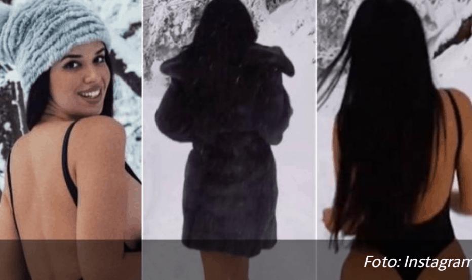 """(VIDEO) Bosanka trčala polugola po snijegu: """"Nije ti hladno?"""""""