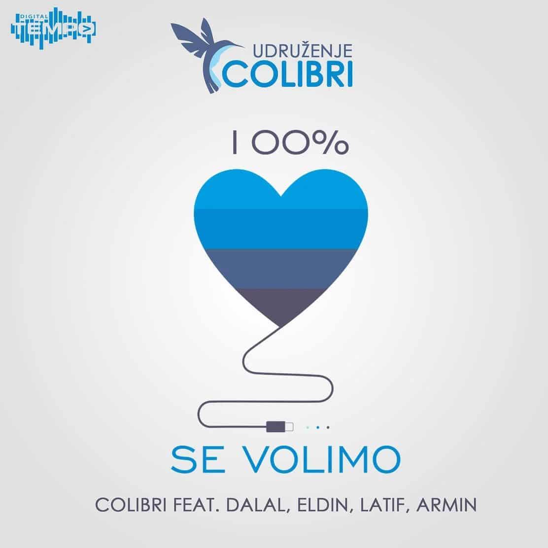 Colibri feat Dalal, Eldin, Latif, Armin – 100% se volimo (VIDEO)
